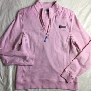 Vineyard Vines Jackets & Coats - EUC Vineyard Vines Shep Pullover pink sz small